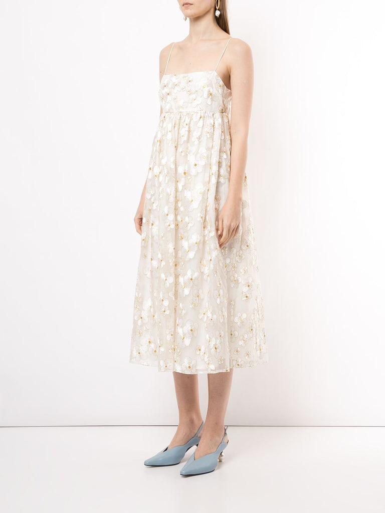Bluebell Dress in Ivory Blossom