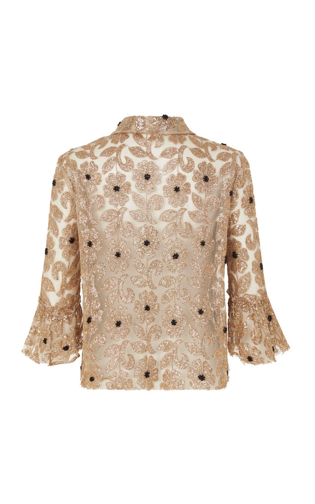 Bourgeois Top in Gold