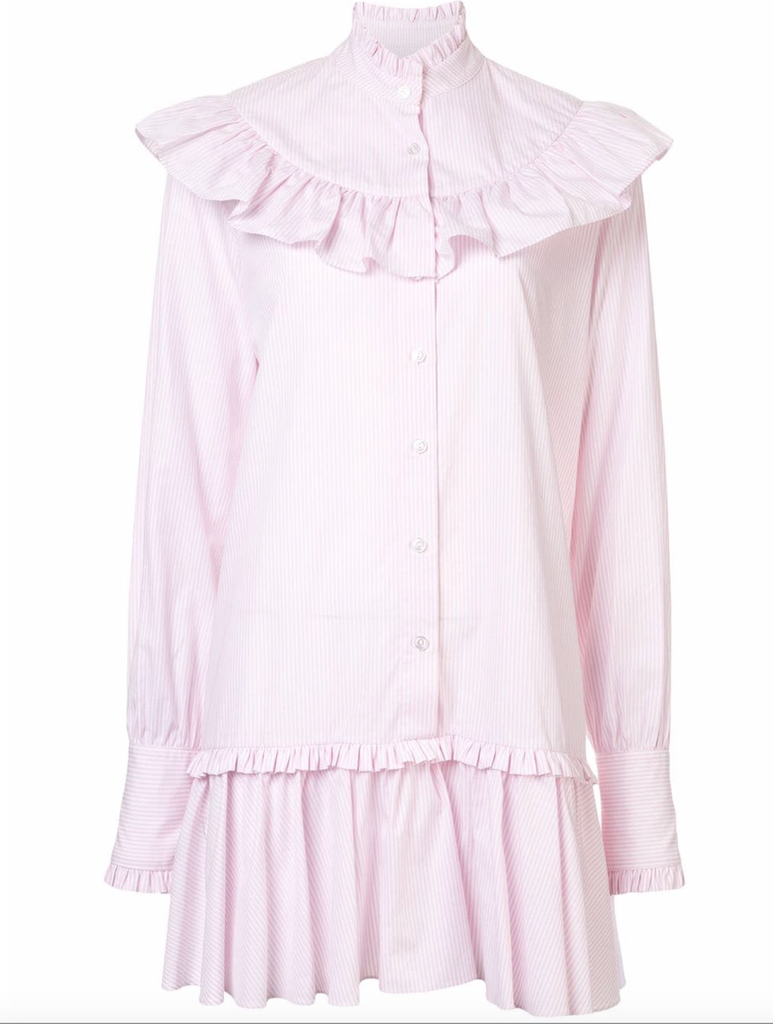 Fable Dress in Pink Stripe