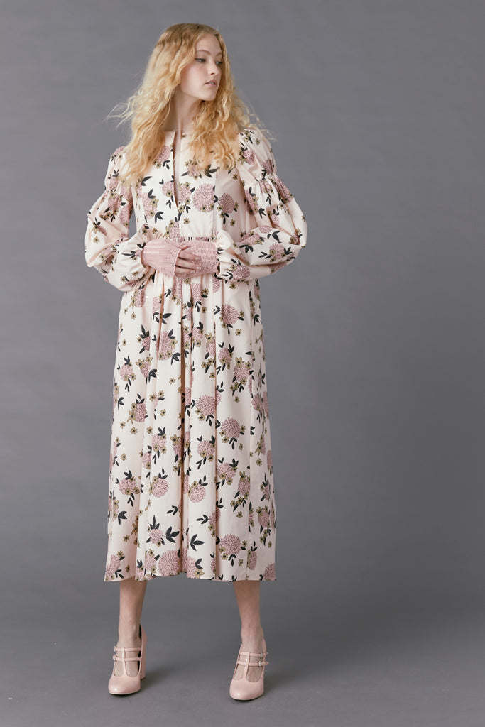 Hibernation Dress in Floral Print