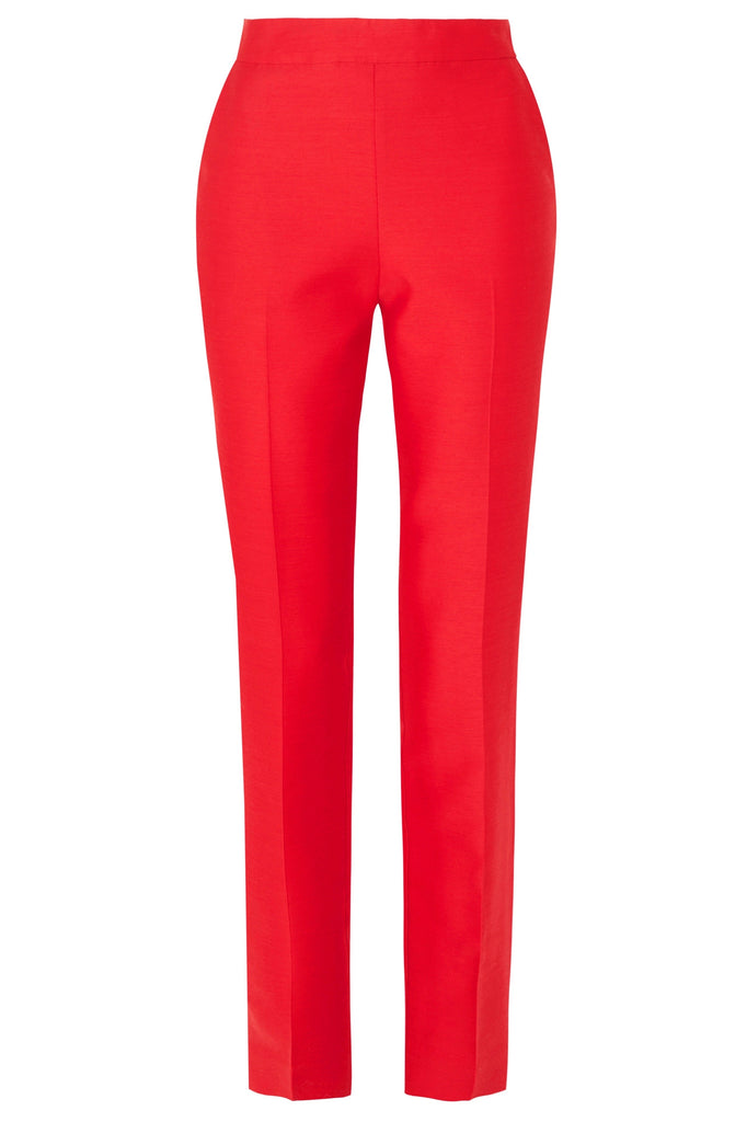Non chalant Trouser in red