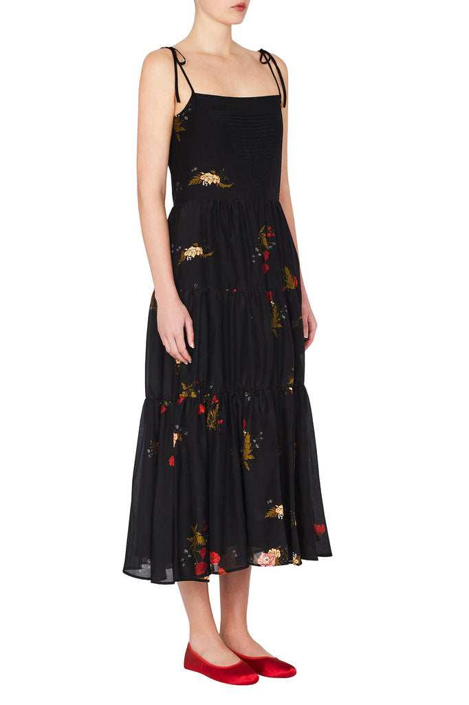 Prairie Dress in Black