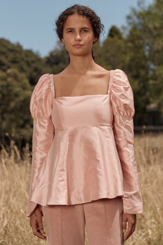 Romantic Top in Pink