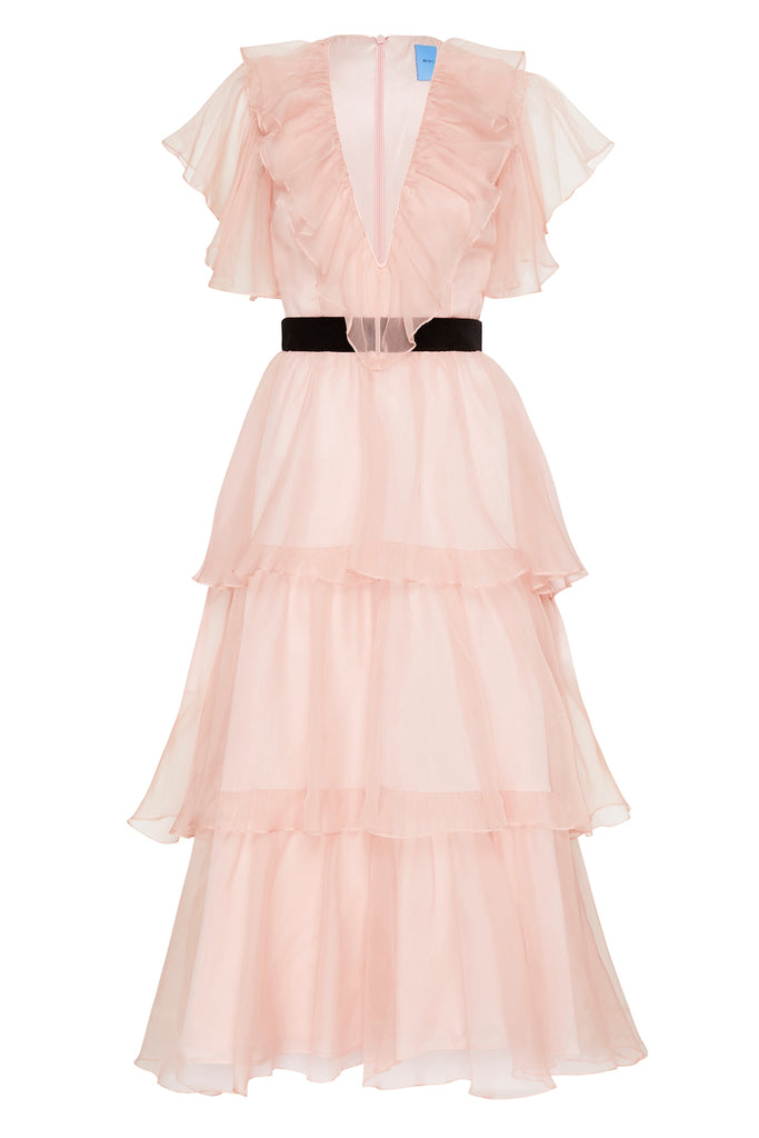 Chandelier Dress in Pink