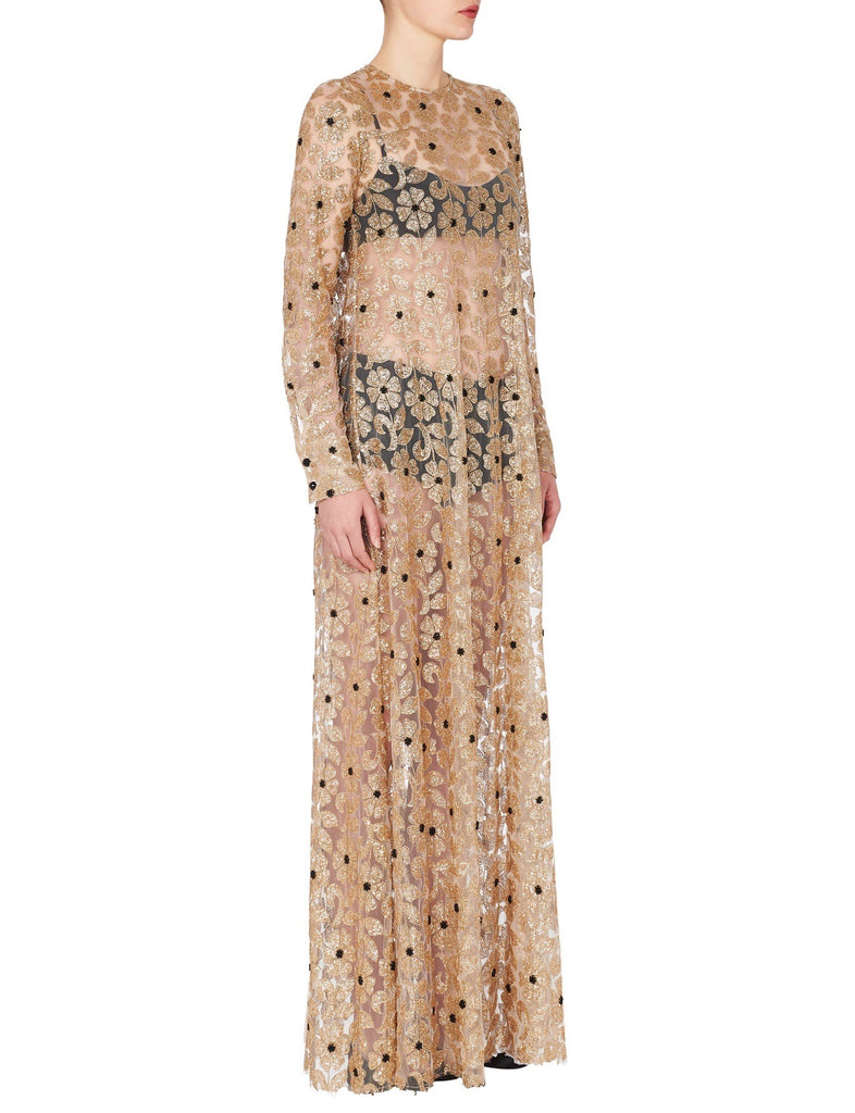 Soiree Dress in Gold