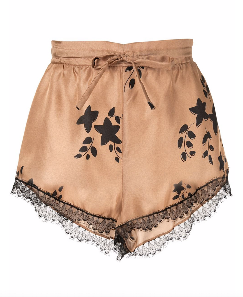 St Clair Shorts in Biscuit & Black