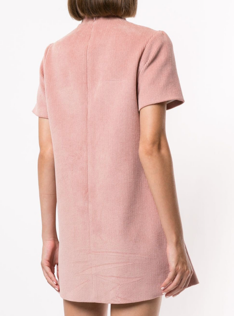 Surrender Shift Dress in Pink