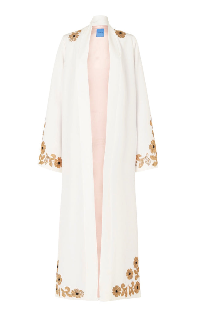 Whiskey Robe in Ivory