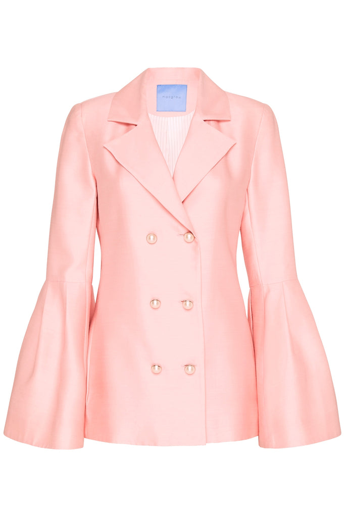 Wing Blazer in Pink