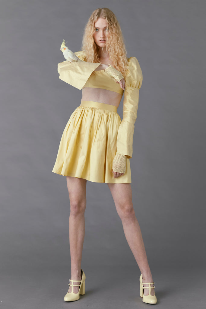 Canary Skirt in Butter