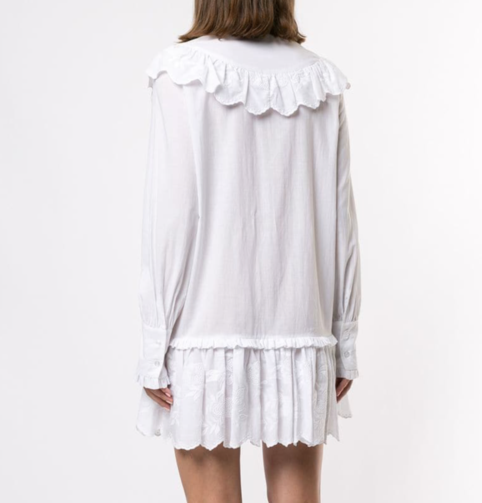 Fable Dress in White