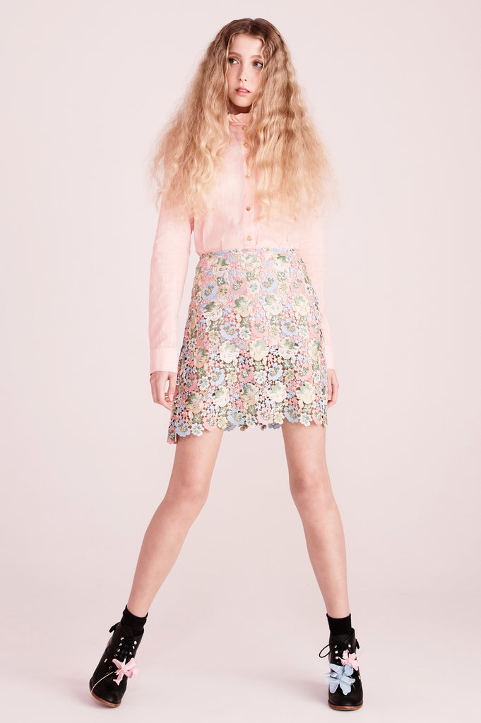 Afrodille skirt in macgraw lace