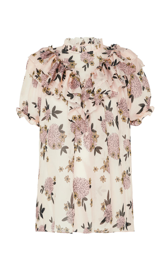Migration Top in Floral Print
