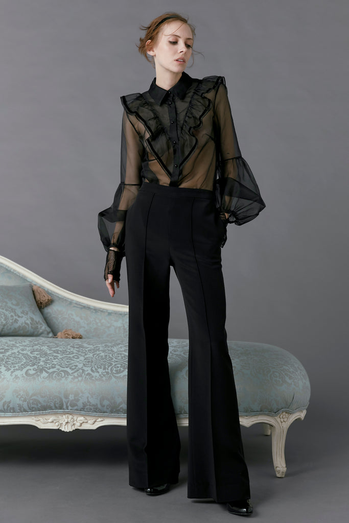Peacock Pant in Black