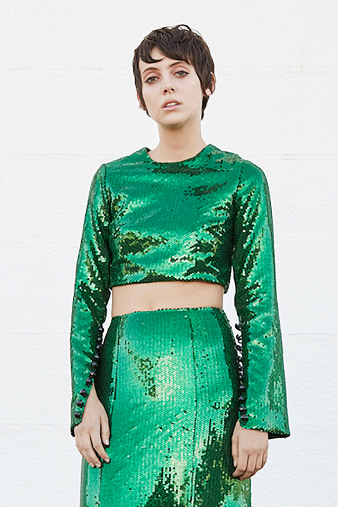 Prism Top in green