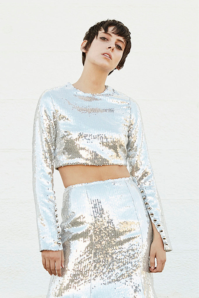 Prism Top in silver