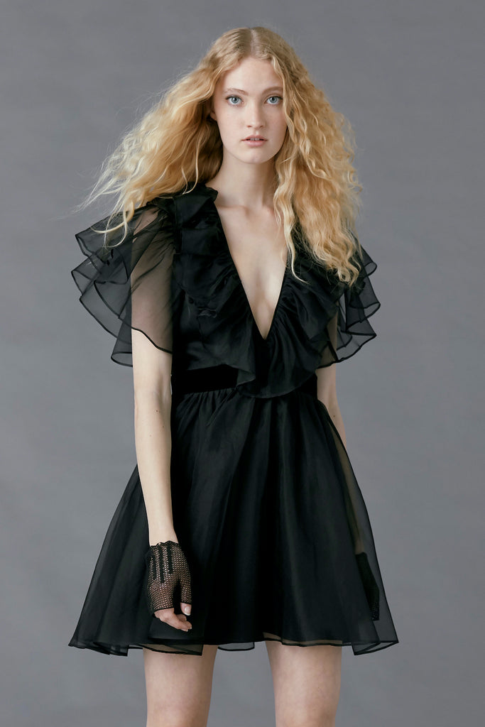 Sandpiper Dress in Black