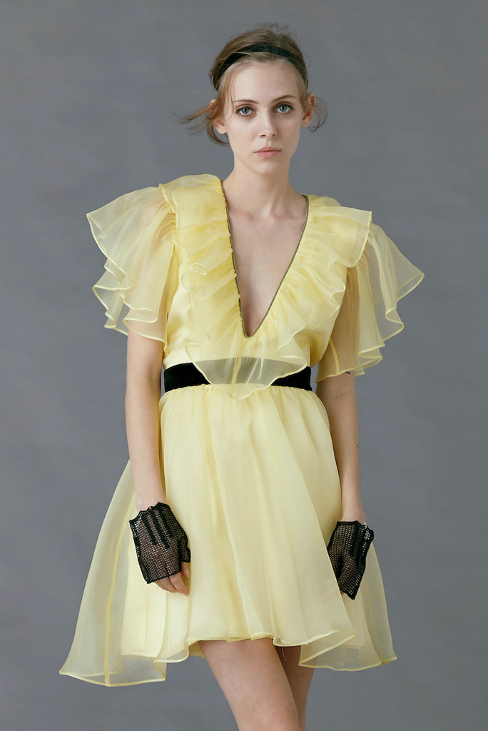 Sandpiper Dress in Yellow