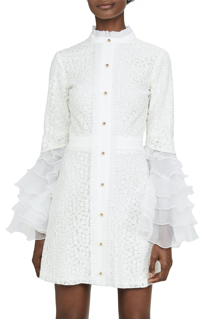 Sincerity Dress in ivory lace