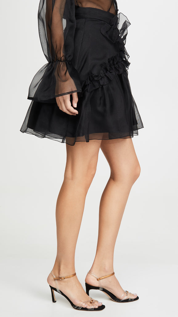 Soufflé Skirt in Black