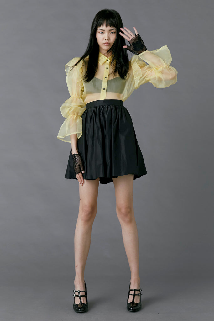Souffle Blouse in Yellow