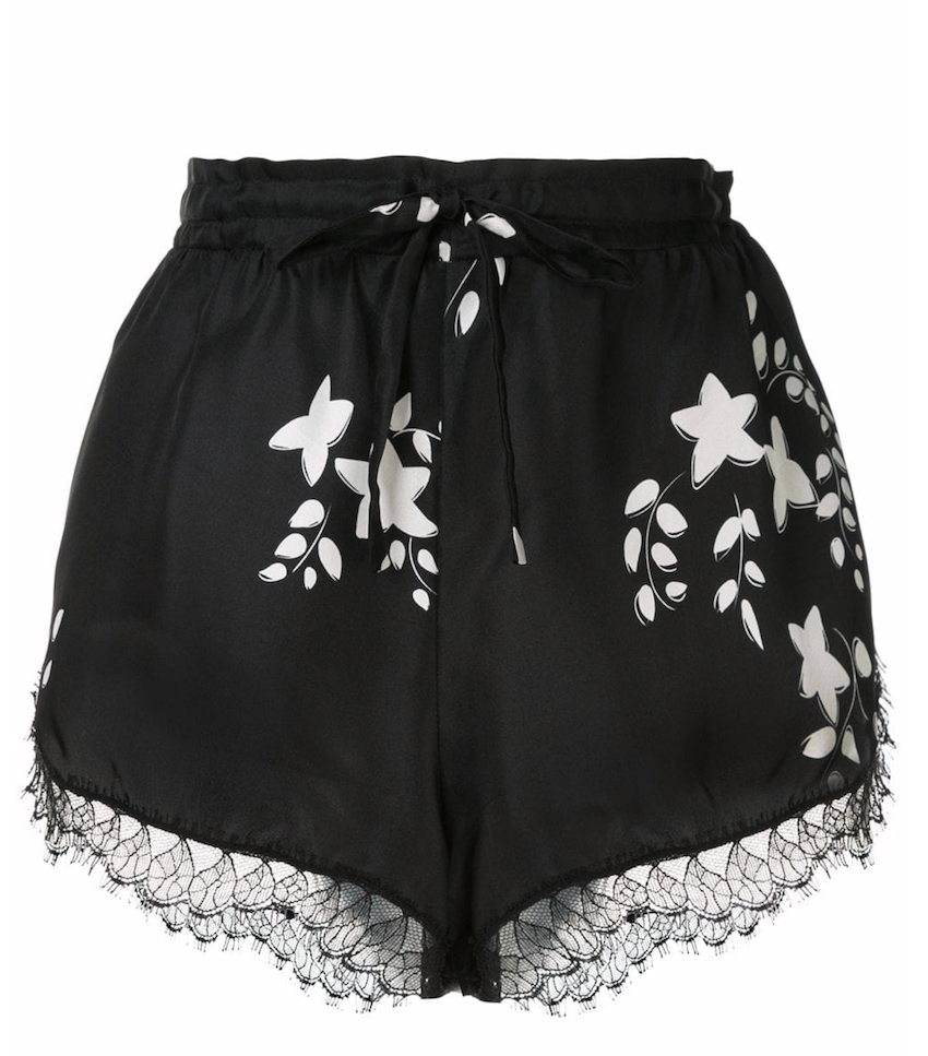 St Clair Shorts in Black & White