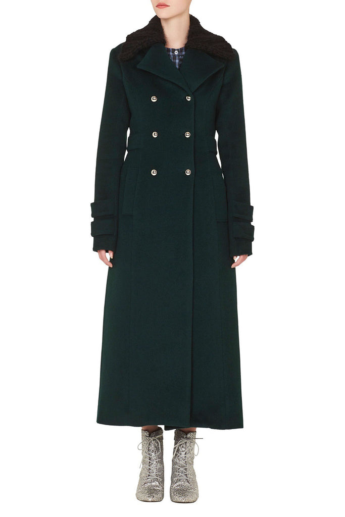 Starman Overcoat in Green