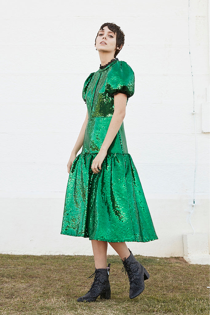 Ziggy Dress in Green