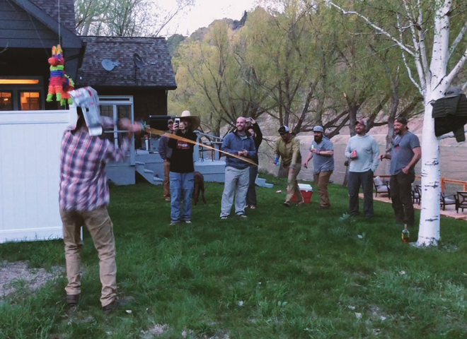 Echo Gecko Fly Rod Verse Pinata and Casting Competition - TFP in the Wild