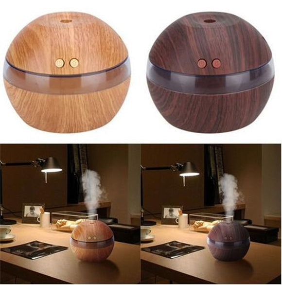 Air Aroma Essential Oil Diffuser LED Ultrasonic Aroma Aromatherapy Humidifier UHJ
