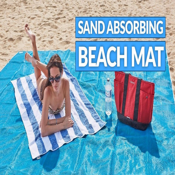 Outdoor Sand Absorbing Beach Mat