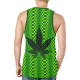 Psychedelic Kush Relaxed Fit Men's Tank Top