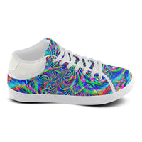 Psychedelic Tropical Rave Men's Chukka Sneakers