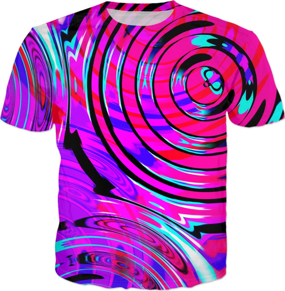 Bass Drop Electric Rave Wave T-Shirt | BigTexFunkadelic