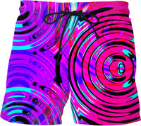 Bass Drop Electric Rave Wave Swim Shorts | BigTexFunkadelic