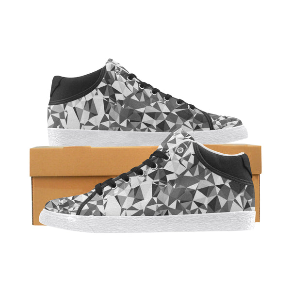 Diamond Print Men's Chukka Sneakers - BigTexFunkadelic