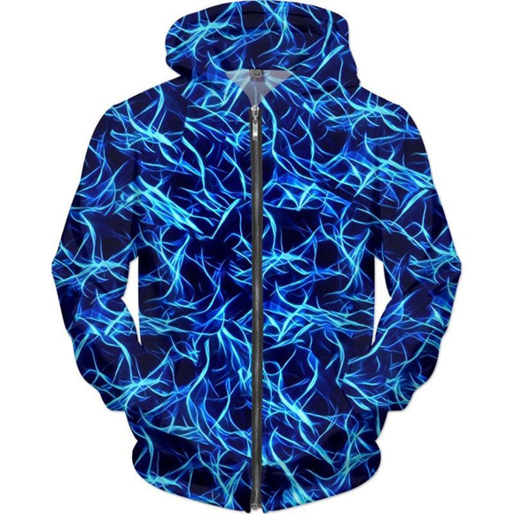 Electrifying Mystique Hoodie