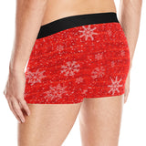 Red Holiday Snowflake Boxer Briefs | BigTexFunkadelic