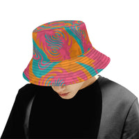 Fiesta Colors Spinzone Throwback Bucket Hat | BigTexFunkadelic