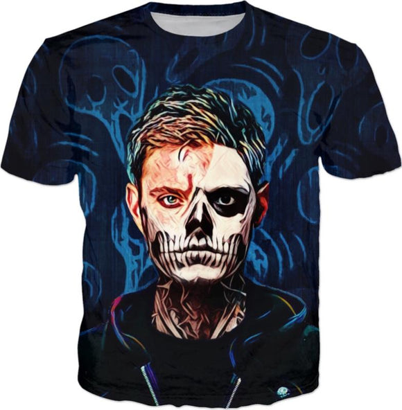 Haunted Spirts All Over Print T-Shirt