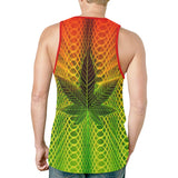 Rastafarian Herb Relaxed Fit Men's Tank Top
