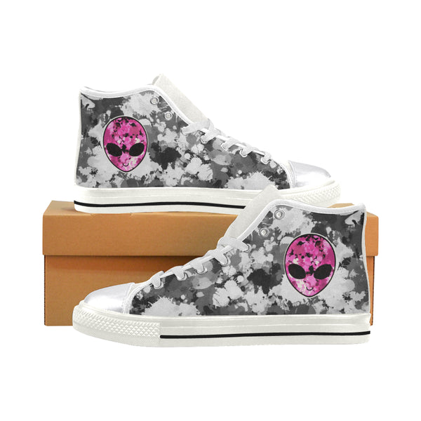 Alien Hi-Top Women's Sneakers | BigTexFunkadelic