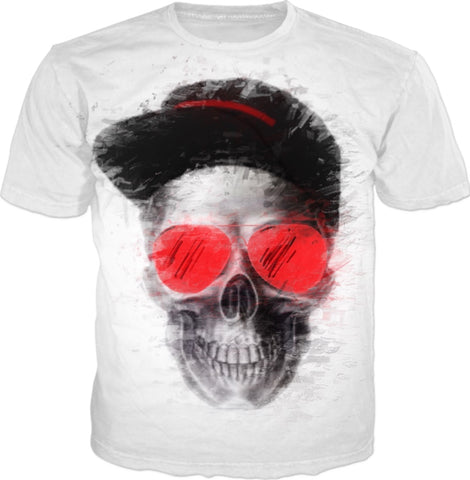 Hip-Hop Skull T-Shirt