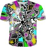 Psychedelic Paint Drop T-Shirt