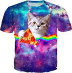 Pizza Cat T-Shirt | BigTexFunkadelic