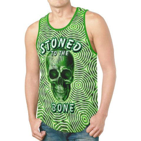 Stoned To The Bone Relaxed Fit Men's Tank Top
