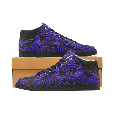 Purple Dimension Men's Chukka Sneakers | BigTexFunkadelic