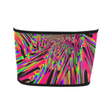 Neon Acid Waves Bandeau Top