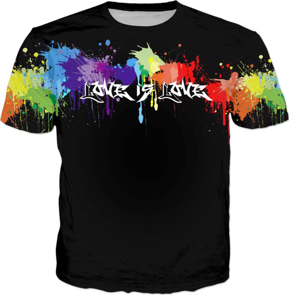 Love is Love T-Shirt | LGBTQ+ Pride | BigTexFunkadelic