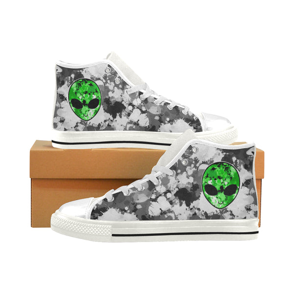 Alien Hi-Top Men's Sneakers | BigTexFunkadelic